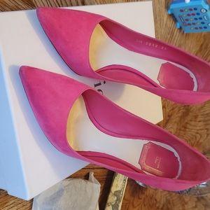 Dior Cherie Pointy Pump Heels